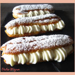 Eclairs chantilly