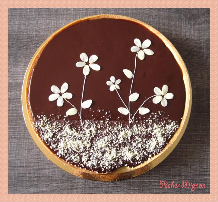 Tarte Chocolat Amande